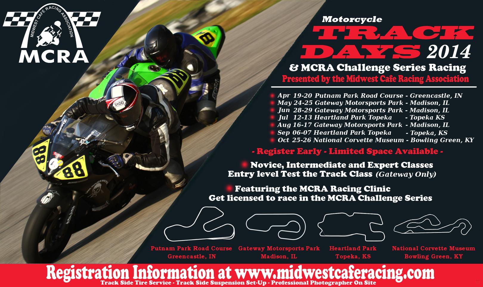 MCRA 2014 Schedule